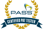 PASS Certified PAT Tester